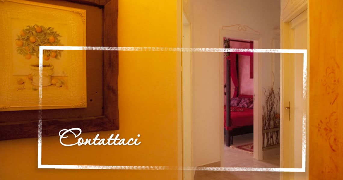 Contact us | Bed & Breakfast near the sea Gaeta | Serapo