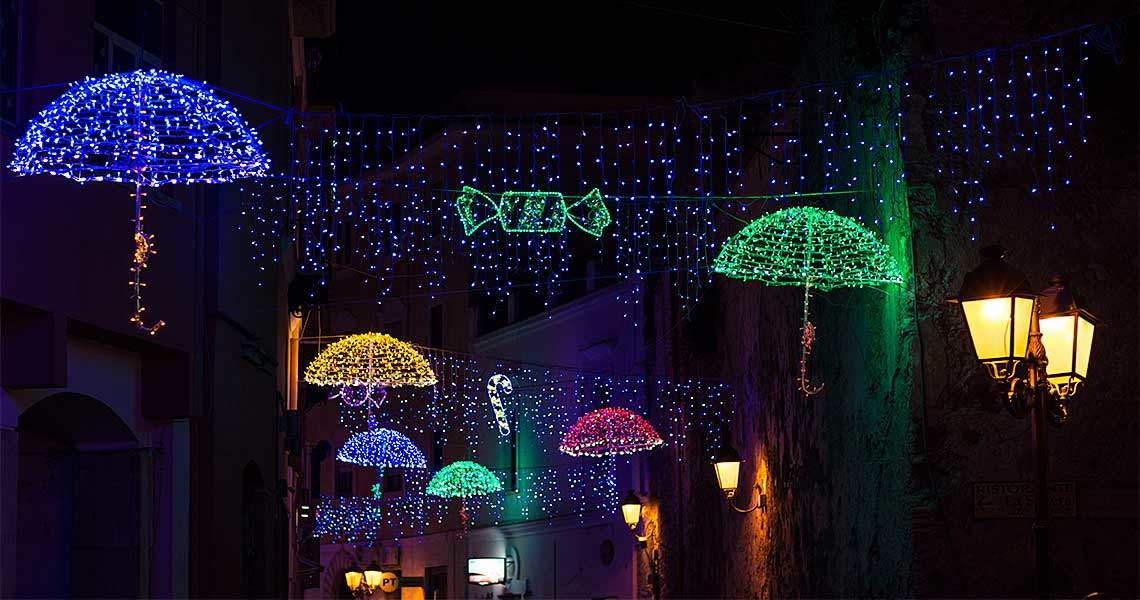 Luminarie di Natale a Gaeta | Vistare Gaeta l'inverno