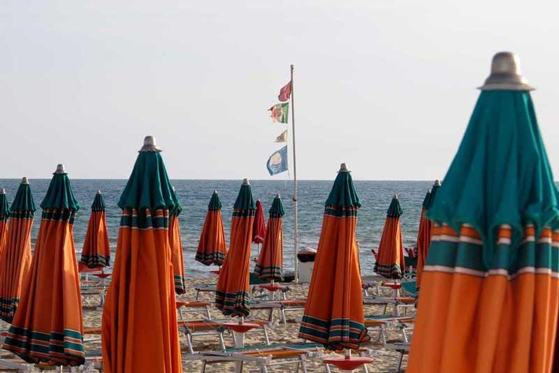 Spiaggia di Serapo Gaeta Bassa Stagione