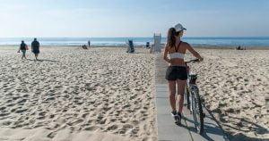spiaggia di serapo gaeta mare inverno